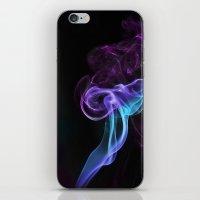 Colored Smoke iPhone & iPod Skin