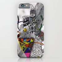 iPhone & iPod Case featuring Psychoactive Bear 7 by Hazeart