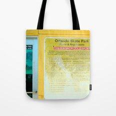 #HAZARDOUS SPORT - SKATE PARC ORLANDO, USA by Jay Hops Tote Bag