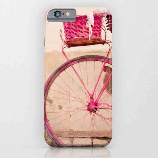 Lady in Pink iPhone & iPod Case