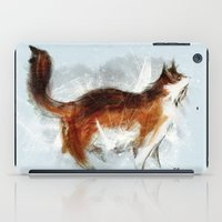 Calico Cat On Canvas iPad Case