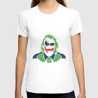 joker T-shirts featuring Joker by Sourire Art