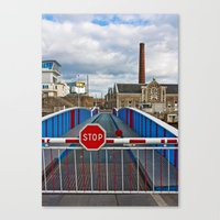 Stop Sign Canvas Print