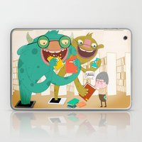 E-book Monsters! Laptop & iPad Skin