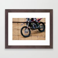 Dirt'n Framed Art Print