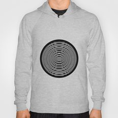 Simple Modern Stripes Circular Print Hoody