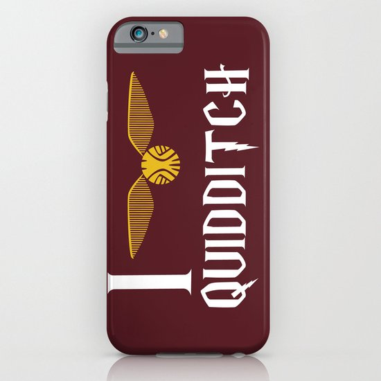 I love Quidditch iPhone & iPod Case