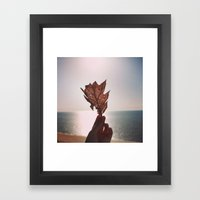 Radiate Framed Art Print