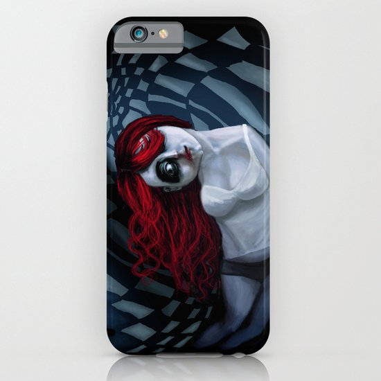 the dark side of my mind hurts iPhone & iPod Case