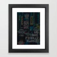 mr.robot_eps1.9_zer0-day.avi Framed Art Print