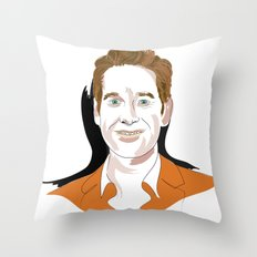 Paul Rudd Throw Pillow