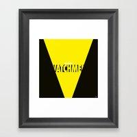 Watchmen 2.0 - Silk Spec… Framed Art Print