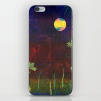 Moon Garden iPhone & iPod Skin