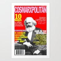 COSMARXPOLITAN, Issue 1 Art Print