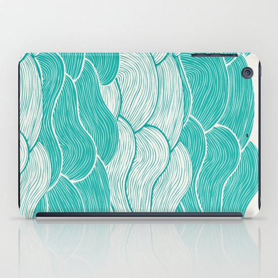 The Calm and Stormy Seas iPad Case
