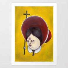 El Gorrito Art Print