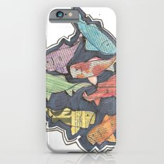 Newspaper Fish iPhone 6 Slim Case