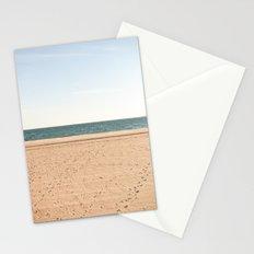 Sand, sea, sky Stationery Cards