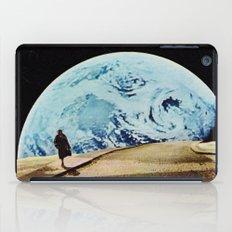 Moon walking iPad Case