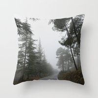 The Road, The Forest... Throw Pillow