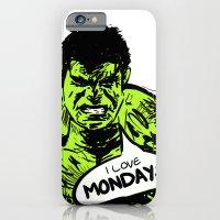 Hulk Loves Monday iPhone 6 Slim Case