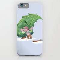 iPhone & iPod Case featuring Enemies hug IV by Ingrid Aspöck