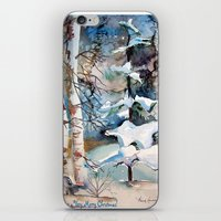 Carol of the Birds iPhone & iPod Skin