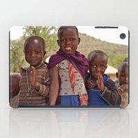 Maasai Children iPad Case
