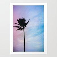 Single Palm Art Print