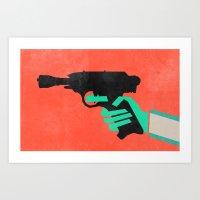 Shoot First (Greedo) Art Print