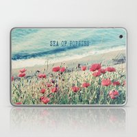 Sea of Poppies Laptop & iPad Skin