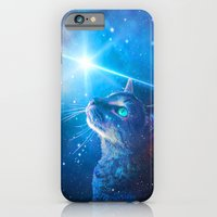 iPhone & iPod Case featuring Sir Parkers Voyage into Space by Sir P & Lady J