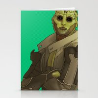 Not easy being green Stationery Cards