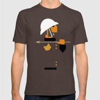 The Man Who Would Be Kin… Mens Fitted Tee Brown SMALL
