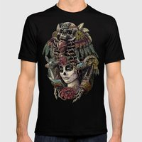 Day Of The Dead (Ancient… Mens Fitted Tee Black SMALL
