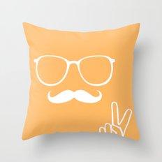 Man of Peace Throw Pillow