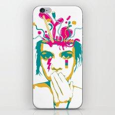 Liquid thoughts:Girl iPhone & iPod Skin