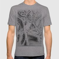 Driade 3 Mens Fitted Tee Athletic Grey SMALL