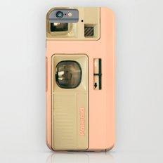 Pink Pola Love vintage camera iPhone 6s Slim Case