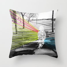 Benched Throw Pillow