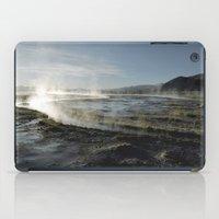Natural spas iPad Case