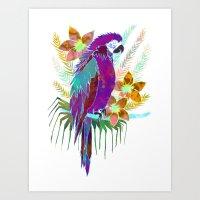 Parrot Elua  - Style A Art Print
