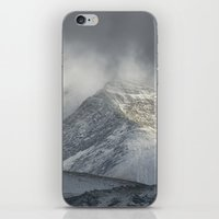 Storm at the mountains iPhone & iPod Skin
