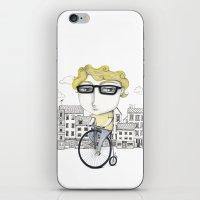 Biking iPhone & iPod Skin