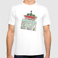 Chukuang house Mens Fitted Tee White SMALL
