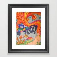 professor marvel Framed Art Print