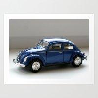 Volkswagen Classical Beetle (1967) Art Print