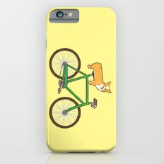 Corgi On A Bike iPhone 6 Slim Case