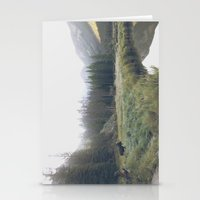 Morning Meadow Moose Stationery Cards