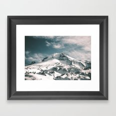 Mount Hood V Framed Art Print